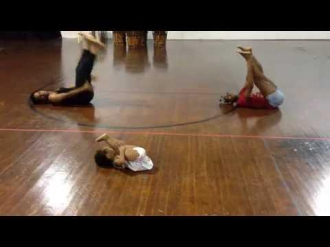 cute ^^ 2 year old, Zaya's choreography to Chandelier by Sia!