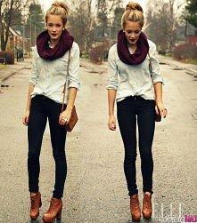 takie stylizacje bardzo mi się podobają ♥ są proste, bez zbędnych dodatków, perfekcyjna