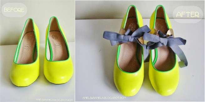 jak przerobić buty ,lekko za duże