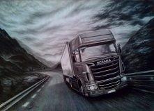 Ciężarówka w ołówkach ;]