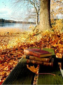 Książki i jesień... idealne połączenie :)
