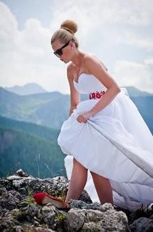 moja sesja ślubna w Tatrach ;-)