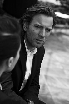 Ewan McGregor, by Peter Lindbergh for IWC Schaffhausen - A Sparkle to the Wri...
