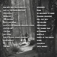 Lista utworów z The Maze Runner :) Vox Populi Marsów rządzi :)