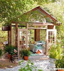 altanka i domek dla gości d...