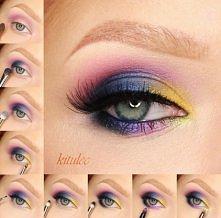 Kolorowe smokey eyes przy użyciu paletki Sleek Rio Rio Film już na kanale YT - kitulecmakeup Krok po kroku na blogu - kitulec beauty blog