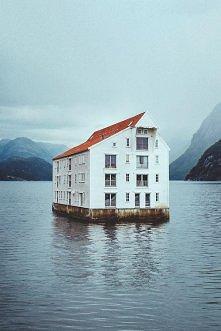 Dom na wodzie; Norwegia