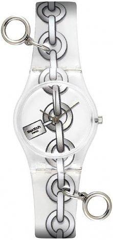 Zegarek Swatch z ozdobnymi ...