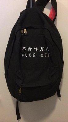 Plecak dla introwertyków, którzy lubią fitness :)