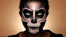 Tutorial do czachy na moim kanale YT - kitulec makeup Więcej zdjęć na blogu - kitulec beauty blog