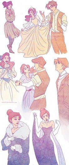 Oglądaliście Anastazję? Co prawda nie jest zrobiona przez Disney, ale należy ...