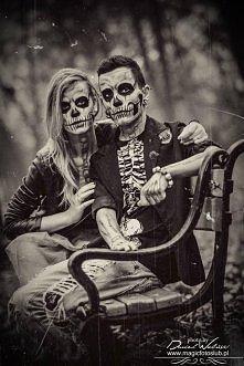 Halloweenowa stylizacja Modele: Jasiek i Ewelina Foto: Dariusz Woliński Make ...