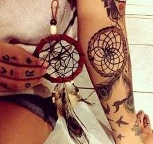 Tatuaż łapacz snów. Oj podo...
