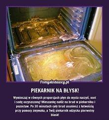 mycie piekarnika