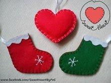 Święta tuż tuż :) Przyjmuję zamówienia na ozdoby świąteczne z filcu :) Zapraszam na mojego bloga - kliknij w zdjęcie