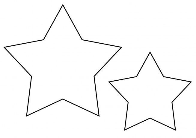 Szablon gwiazdka