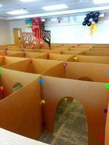 zabawa labirynt dla dzieci