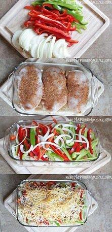 Super pomysł na fileta z kurczaka. Polecam