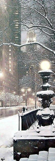 Zima w Nowym Jorku