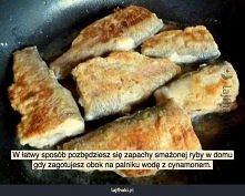 Pozbądź się zapachu smażonej ryby