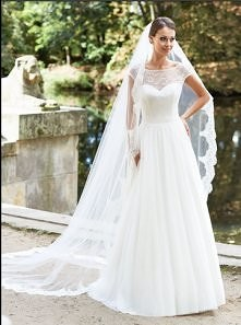 To moja suknia ślubna:) Finezja 2014 Salon Ślubny Margarett