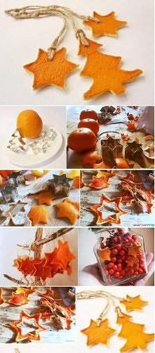 ze skórki pomarańcza