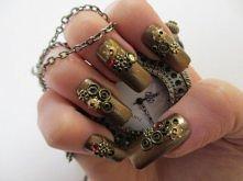 Zegarkowe paznokcie