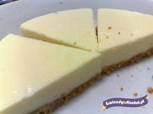 Przepis na sernik nowojorski.  Ciasto sernik nowojorski to klasyczny przepis ...