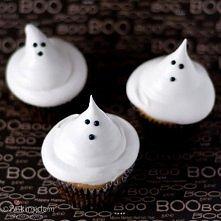 halloween babeczki duch
