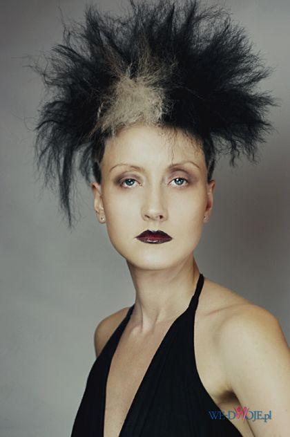 Na Halloween Kucyk Plus Tapir Z Przodu Na Włosy