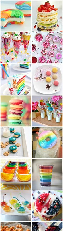 colorful sweets :3