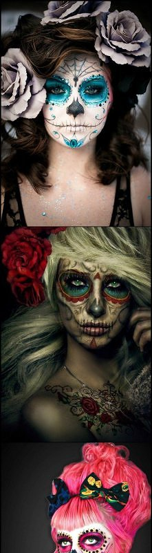 Make up na Halloween