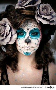 Halloweenowy makijaż