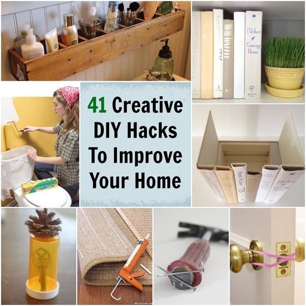 41 sposob w na r ne rzeczy na organizery - Do it yourself bedroom decorations ...