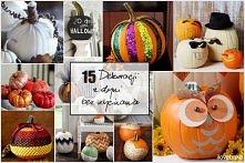 15 dekoracji z dyni bez wyc...