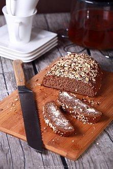 prosty chleb z siemielnianym