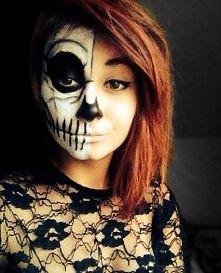 i jak wam sie podoba? make-up na halloween