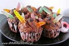halloweenowe muffinki
