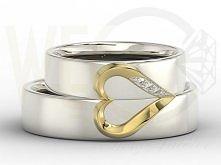 Obrączki. Białe złoto. Piękne ♥ !!