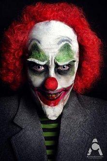 Halloween Makeup Evil Clown