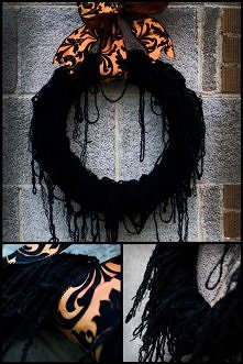 Halloween- prosta dekoracja