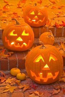 Cudne Halloweenowe dynie - lampiony