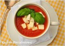 Pomidorowa z mozzarellą