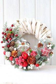 wianek świąteczny decofleur.com.pl