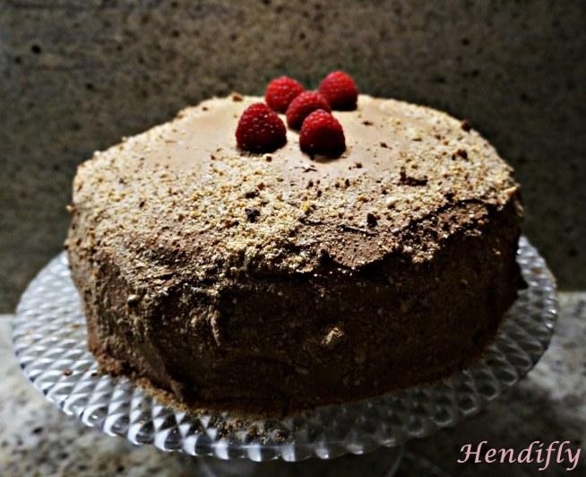 Torcik-czekoladowo-malinowy