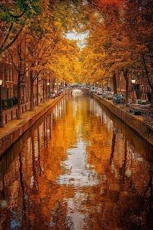 Jesień w Amsterdamie