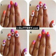 Zrób świetny wzór na paznokcie sama --->>>
