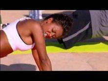 Mel B - 10 minutowy trening klatki piersiowej i pleców