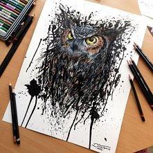 Ekspresyjne rysunki      Intensywność kreski chorwackiego tatuatora Dino Tomica sprawia, iż jego rysunki wydają się ociekać, a czasem wręcz eksplodować ekspresją emocji.