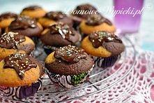 Muffinki marmurkowe Proste ...